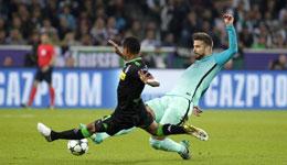 16-17赛季欧冠小组赛第2轮第二日比赛回放