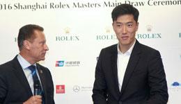 刘翔为上海大师赛抽签 刘翔自曝最爱网球手是李娜