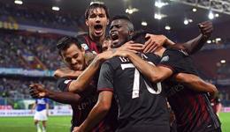 AC米兰挺进积分榜前三 创意甲六年最佳开局