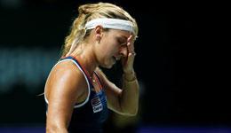 WTA总决赛齐娃小组连输两场 希望忘掉失利努力一搏