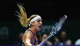 WTA总决赛齐布娃首冠 复制神奇复仇科贝尔
