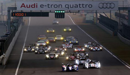 WEC世界耐力赛上海赛 6小时赛见证赛车盛况