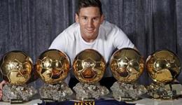 梅西金球奖次数 皮克称近八年金球奖是梅西