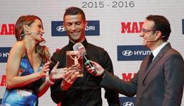 西媒评出上赛季最佳球员 皇马球星C罗摘得