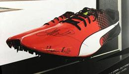 博尔特比赛视频 博尔特里约战靴拍卖3500镑