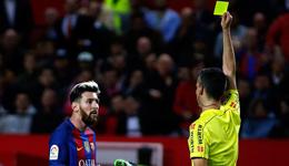 梅西黄牌巴萨上诉不断 最后或为其申请仲裁