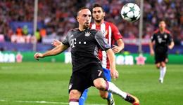 拜仁慕尼黑续约里贝里 年薪不变签至2018年