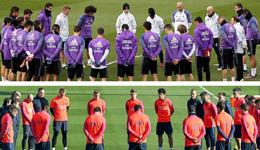 巴西足球队坠机受关注 西甲豪门训练前哀悼