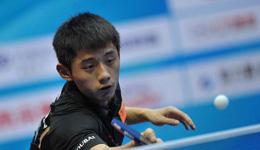 张继科退出乒联总决赛 日本选手替补参赛