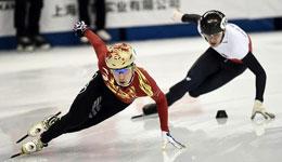 短道速滑世界杯2016-2017 短道速滑中国男队接力进半决赛