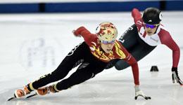 短道速滑世界杯2016-2017 中国女队接力强项