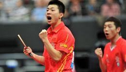 总决赛马龙发挥出色 马龙进四强朱雨玲进半决赛