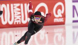 短道速滑世界杯 1000米张虹第八无缘奖牌