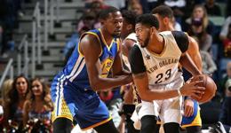 NBA常规赛勇士vs鹈鹕 勇士库里三分雨击杀鹈鹕