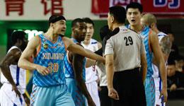 西热力江回应肘击事件 不理智但对手恶意伤害队友