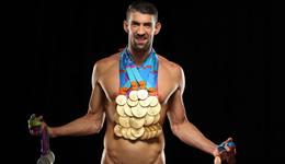 菲尔普斯总共拿了多少金牌 看这张体育画报封面就知道了