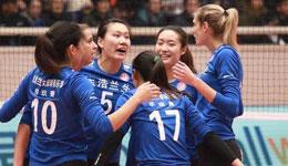 上海女排终于迎来赢球 外援帕万成为球队杀手锏