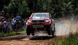 2017达喀尔拉力赛SS1赛段 丰田车队阿提亚赛段最快