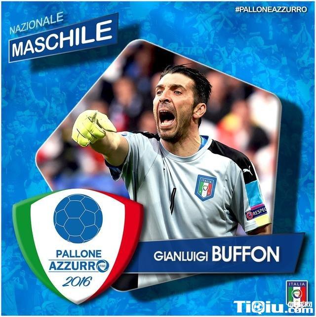 老当益壮! 38岁布冯再获2016意大利最佳球员
