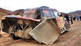 阿提亚退出本届达喀尔 赛车严重受损无法参赛