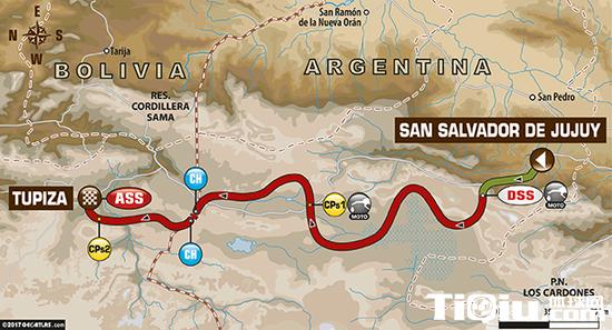 SS4赛段从阿根廷的德胡胡伊