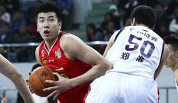CBA常规赛八一VS广州 广州取胜两队结伴无缘季后
