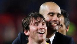 瓜迪奥拉和梅西的关系 曝曼城高价抢购梅西