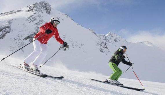 双板滑雪技术动作指导 两步交替滑行有讲究