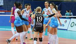 女排欧冠联赛莫斯科3-2险胜 瓦基弗队领衔不败球队