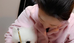 潘晓婷微博晒练毛笔照 网友大赞字如其人