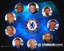 谁担任过切尔西主教练 切尔西10年换9帅