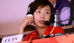 张怡宁解说 大魔王张怡宁开始解说乒乓球