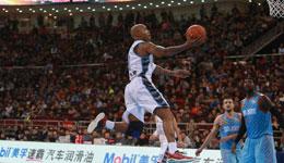 马布里上空篮不进直跺脚 北京男篮季后赛悬了