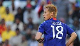 本田圭佑破门 世预赛日本1-2遭阿联酋逆转