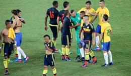 巴西对哥伦比亚 巴西对哥伦比亚1比0