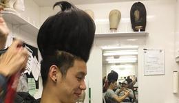 林书豪新发型曝光 林书豪晒奇葩发型