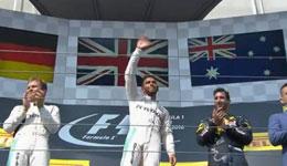 F1匈牙利站 汉密尔顿夺冠登积分榜首