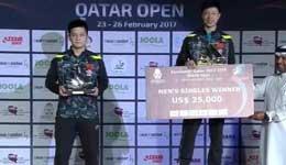 2017年国际乒联巡回赛 马龙胜樊振东夺冠