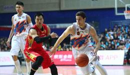 CBA季后赛上海VS深圳 上海加时取胜1-1扳平