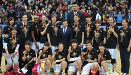 北京女篮夺队史第三冠 市政府贺电望全市学习女篮