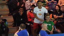 林丹爆冷出局德国赛人气不减 超级丹是个万人迷