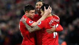 利物浦vs阿森纳 利物浦菲尔米诺马内献传射