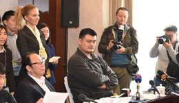 姚明参与政协体育界小组讨论 盼多跟委员一起调研