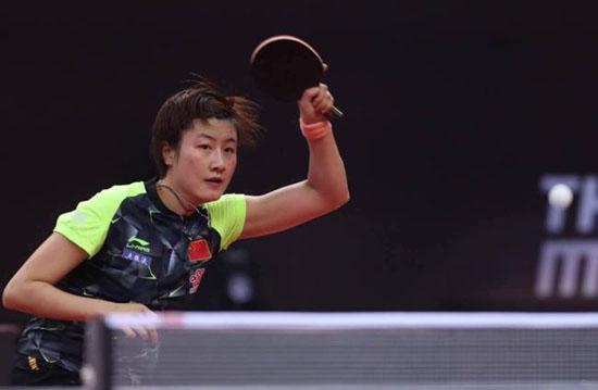 国乒直通赛丁宁喜获六胜 即将迎接地表前五强