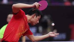 运动员受伤也不离开赛场 只因对乒乓爱得深沉
