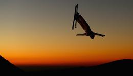 滑雪世锦赛空中技巧 中国队8人仅2人未进决赛