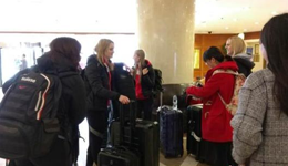 世界女子冰壶锦标赛开战在即 各国选手陆续抵京