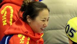 中国短道队教练李琰做客央视《风云会》 谈男队女队平衡不易