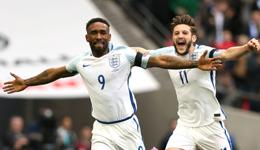 世预赛-英格兰2-0立陶宛 迪福瓦尔迪破门