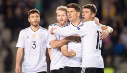 世预赛德国全胜小组领跑 德国4-1客胜阿塞拜疆